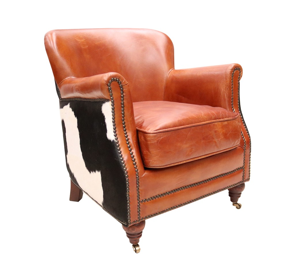 Prime Black Cow Vintage Distressed Leather Armchair Alphanode Cool Chair Designs And Ideas Alphanodeonline