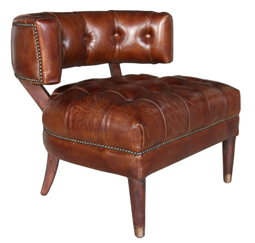 Strange Harris Chesterfield Buttoned Vintage Leather Tub Chair Dailytribune Chair Design For Home Dailytribuneorg
