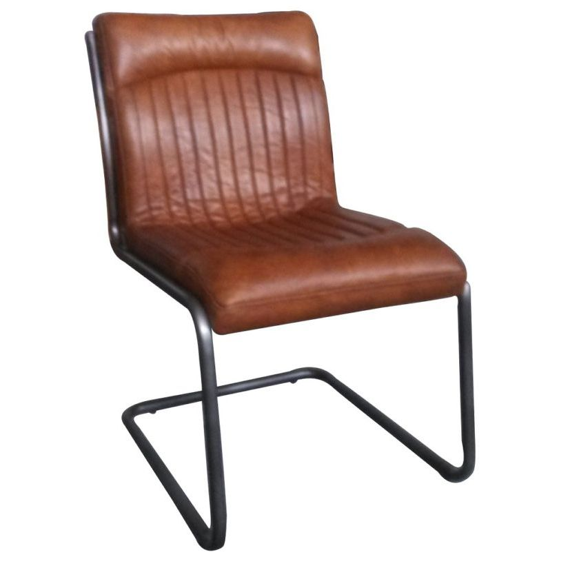 Tremendous Irving Vintage Leather Dining Chair Andrewgaddart Wooden Chair Designs For Living Room Andrewgaddartcom