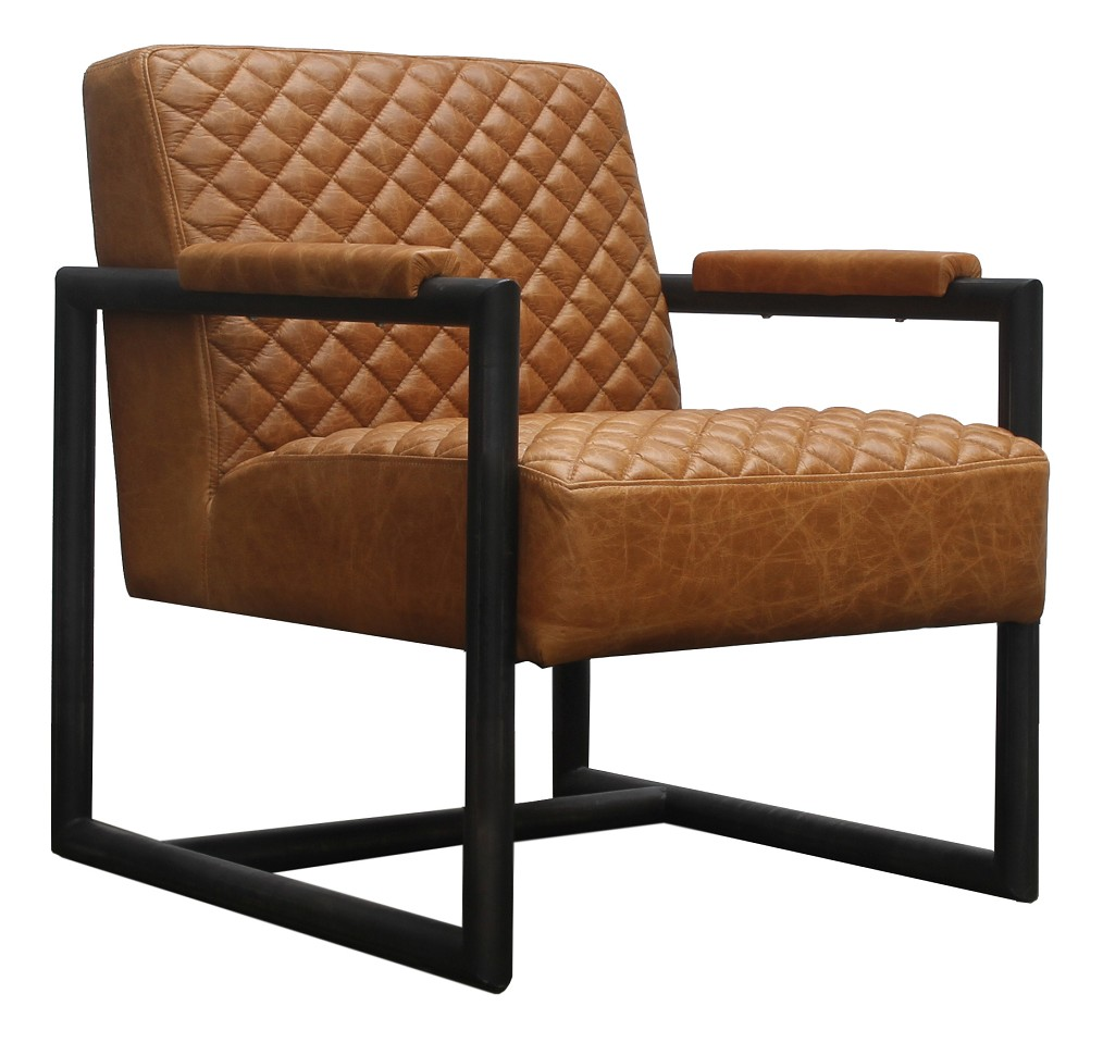 Pelican Vintage Leather Armchair