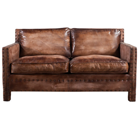 Amazing Portofino Luxury Vintage Distressed Leather 2 Seater Sofa Cjindustries Chair Design For Home Cjindustriesco
