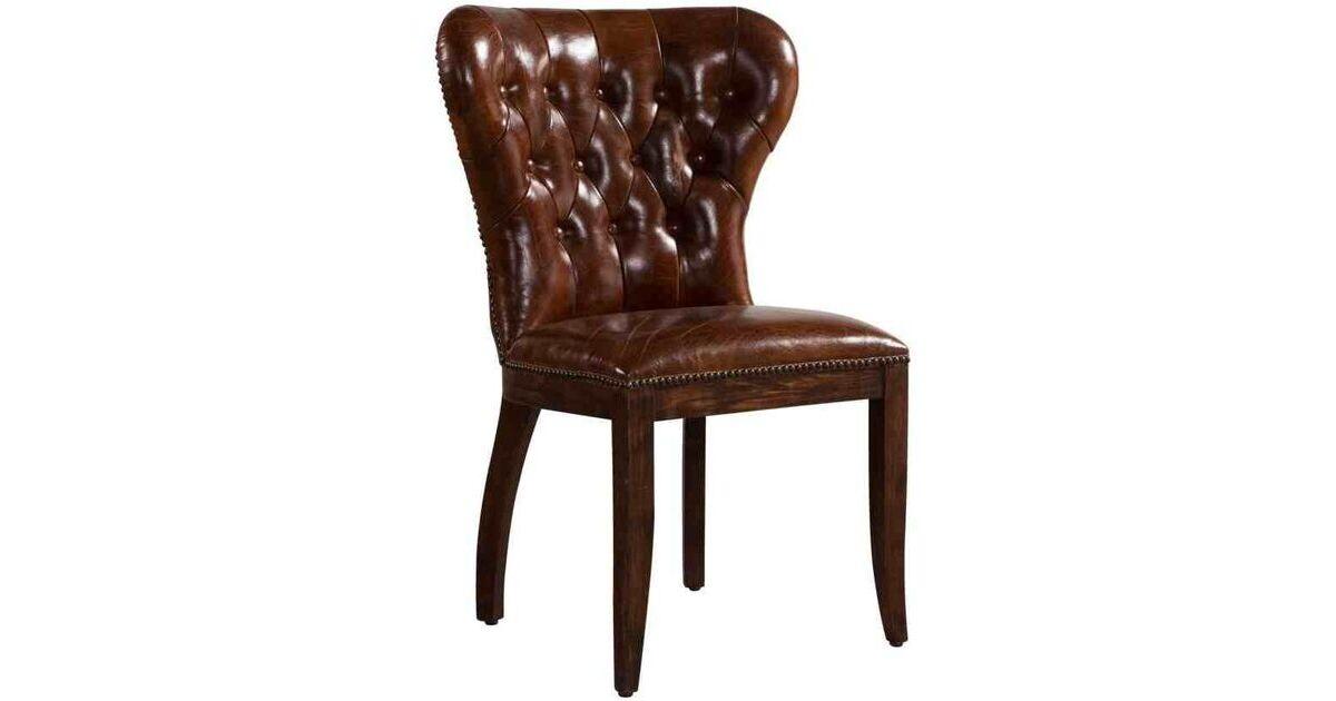 Velvet High Back Dining Chair