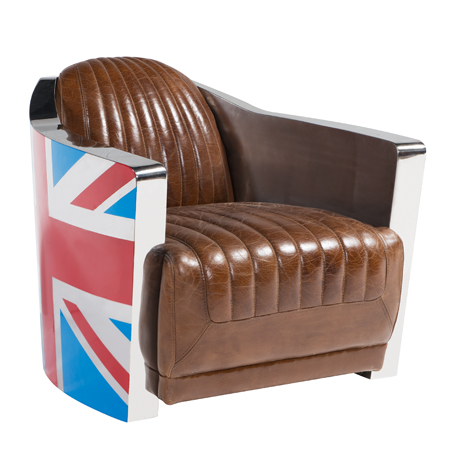 Chesterfield Sofa Union Jack Flag