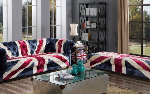 Union Jack Sofas & Acessories: Show your Colours!
