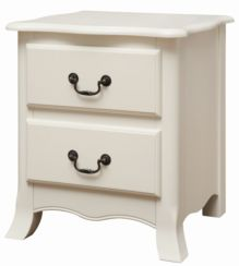 Chantilly 2 Drawer Bedside