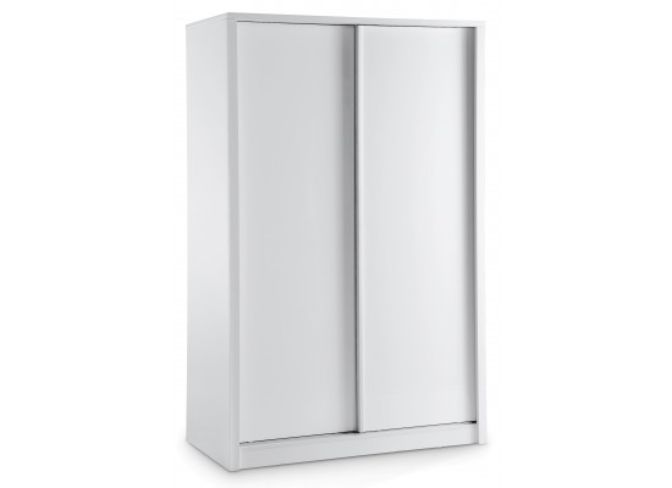 Novello 2 Door Sliding Wardrobe – White