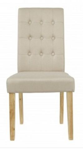 4 x Roma Beige Dining Chairs