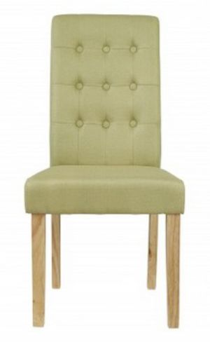 4 x Roma Green Dining Chairs