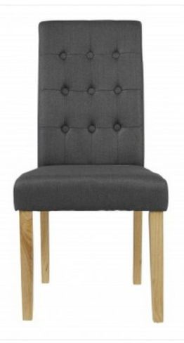4 x Roma Grey Dining Chairs