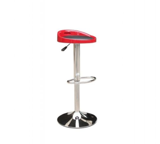 Barcelona Bar Stool Red & Black