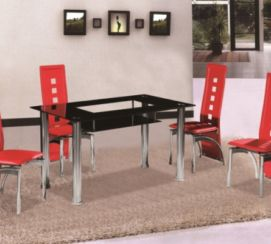 Christie Dining Table (Black)