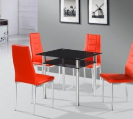 Como Dining Table Black
