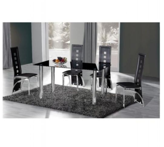 Crystal Dining Table (120cm)
