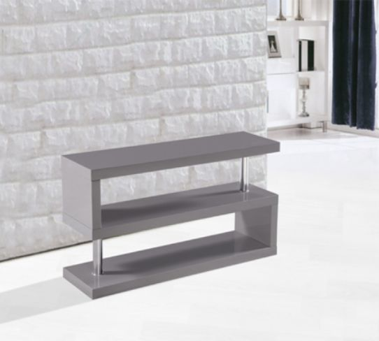 Miami High Gloss Modern Grey TV Stand