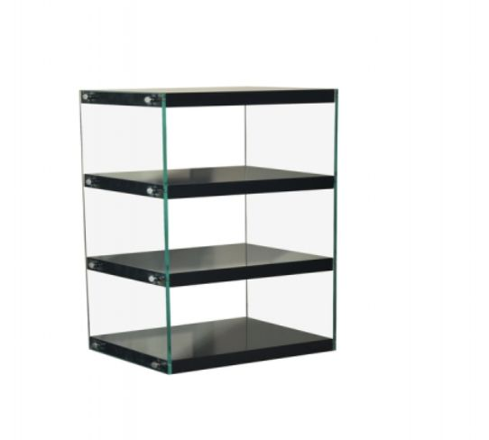 Moda Shelving Unit Medium Black