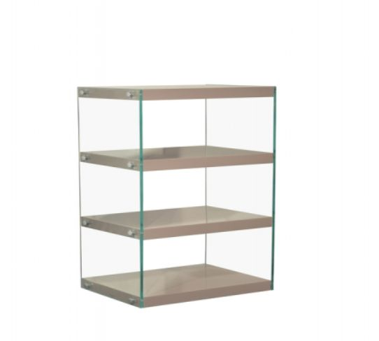 Moda Shelving Unit Medium Mink Grey