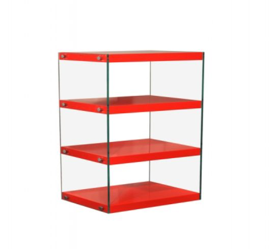 Moda Shelving Unit Medium Red