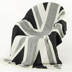Union Jack Wool Grey Lambswool