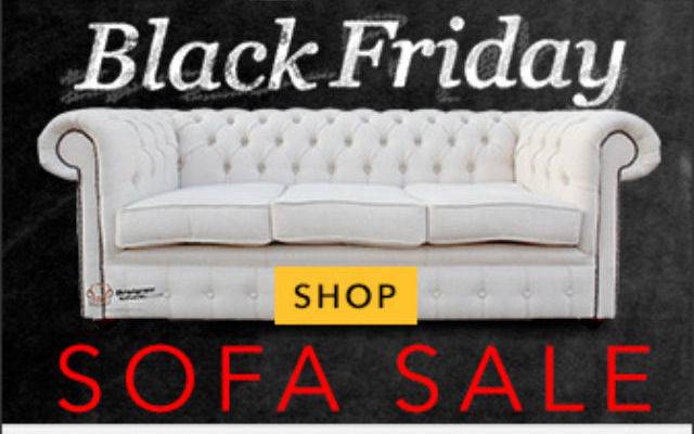 Designer Sofas 4 U Black Friday & Cyber Monday 2016 Mega Sale Offer