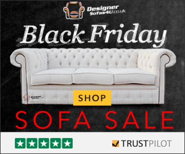 Designer Sofas 4 U Black Friday Cyber Monday 2017 Mega Sale Offer