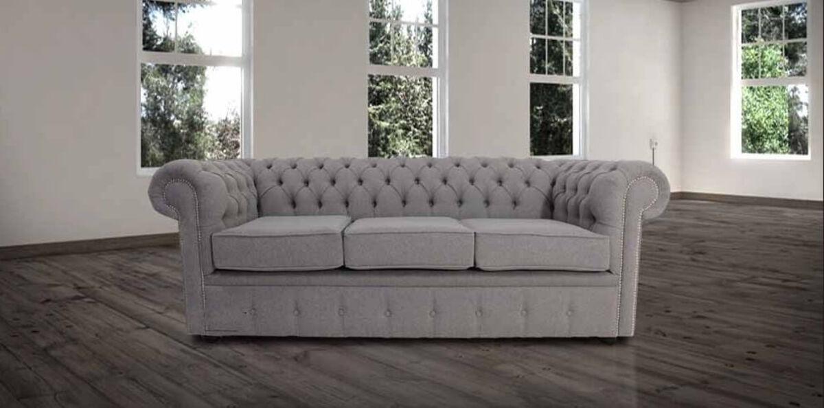 Designersofas4u Buy Steel Grey Chesterfield Sofa Uk