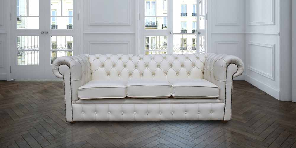 white leather chesterfield 3 seater sofa designersofas4u rh designersofas4u co uk Chesterfield Sleeper Sofa Chesterfield Sleeper Sofa