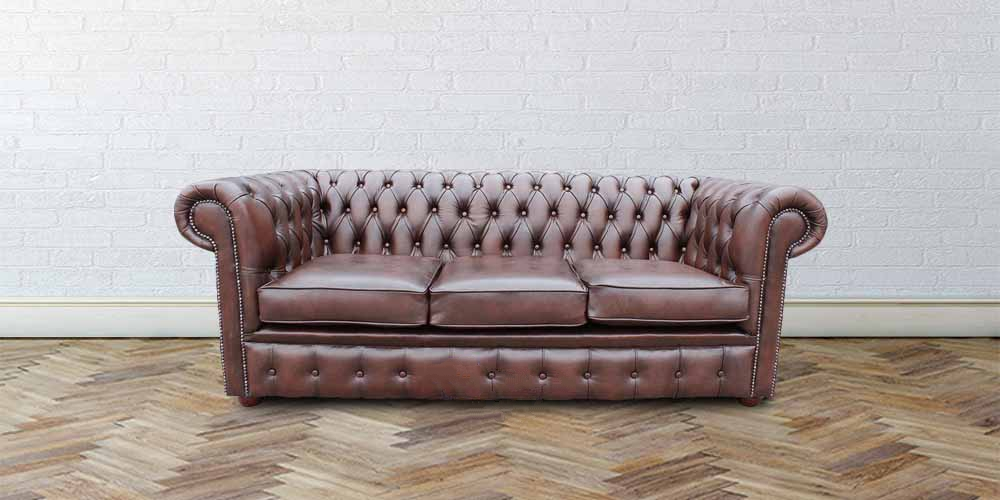 Groovy Chesterfield London 3 Seater Antique Brown Leather Sofa Settee Offer Pabps2019 Chair Design Images Pabps2019Com