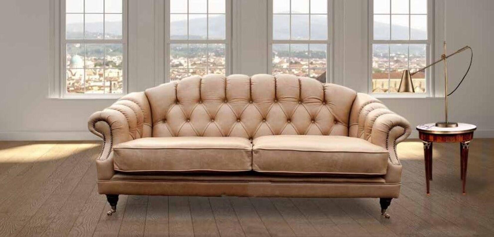 Victoria 3 Seater Chesterfield Sofa Settee Designersofas4u