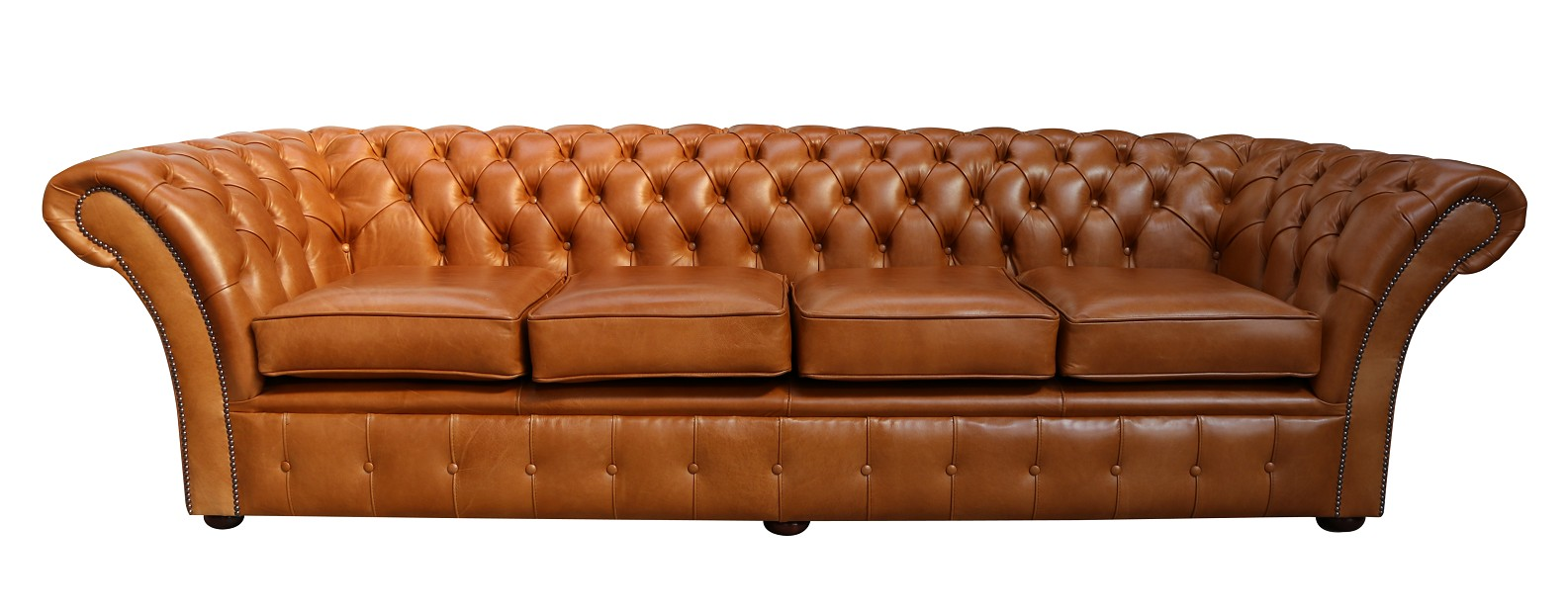 Pleasing Chesterfield Balmoral 4 Seater Sofa Settee Old English Tan Leather Uwap Interior Chair Design Uwaporg