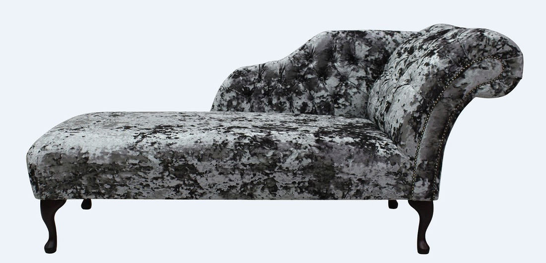 Fabulous Chesterfield Velvet Chaise Lounge Day Bed Lustro Flint Velvet Gmtry Best Dining Table And Chair Ideas Images Gmtryco