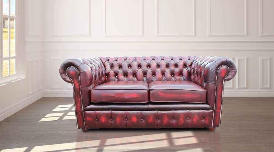 Designersofas4u Antique Oxblood Chesterfield Sofa Uk