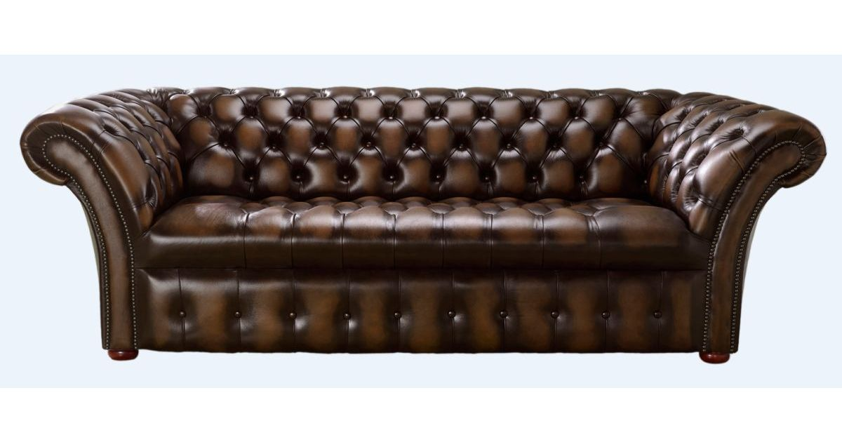 buy leather settee chesterfield furniture designersofas4u
