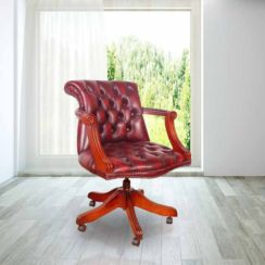 Chesterfield Admirals Leather Office Chair