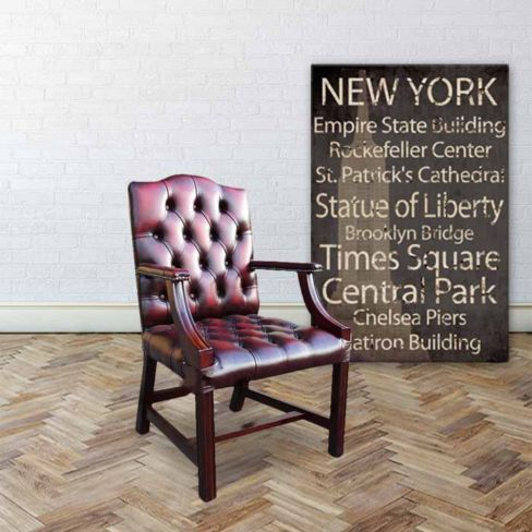 Buy Antique Chesterfield Chairs at DesignerSofas4u | Reproduction English Furniture