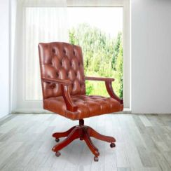 Chesterfield Gainsborough Swivel Chair