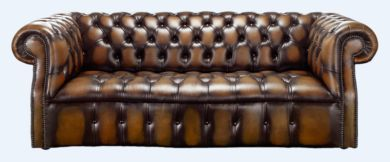 Chesterfield Darcy 3 Seater Antique Autumn Tan Leather Sofa Offer