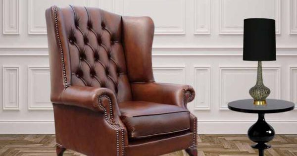 Chesterfield Prince S Mallory Flat Wing Chair