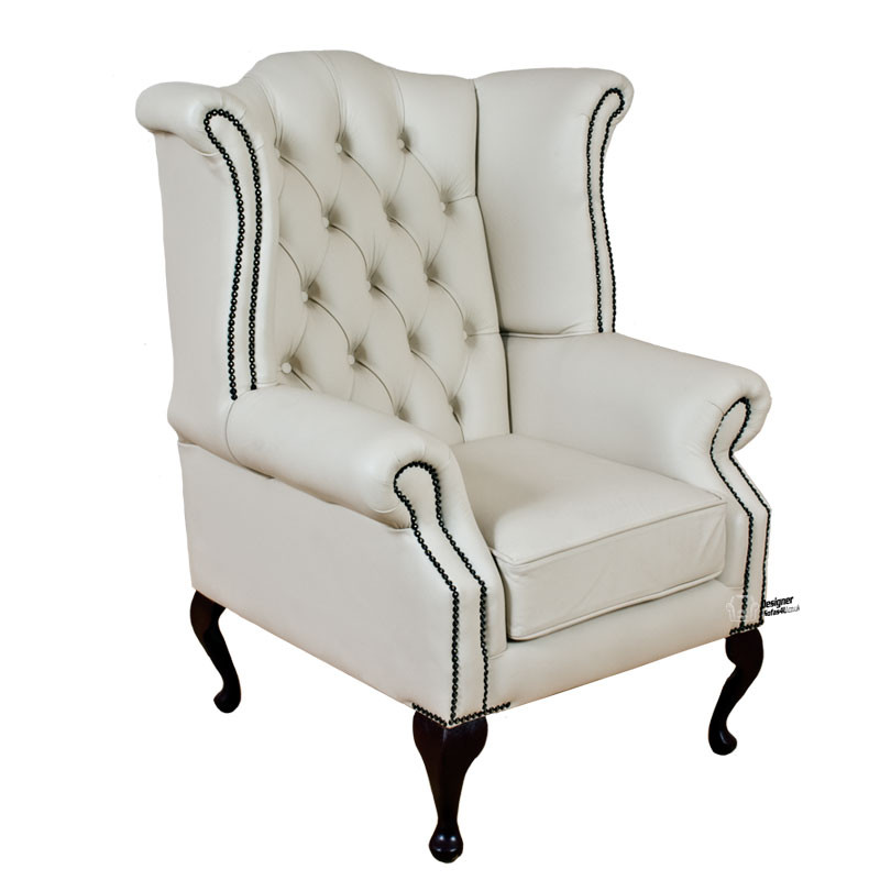 Chesterfield wing chair buy online at designer sofas 4 u