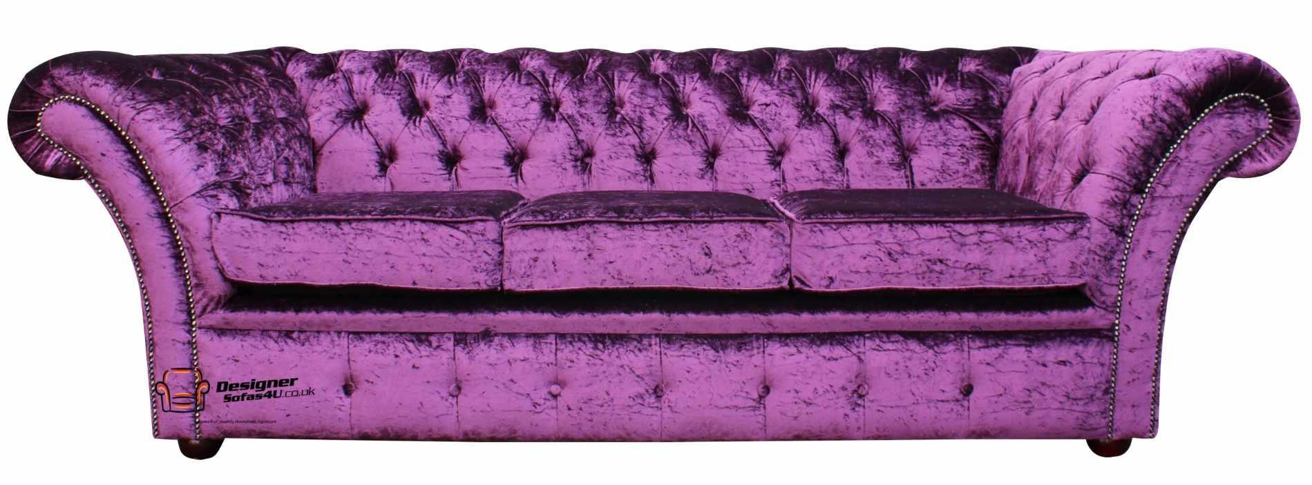 velvet chesterfield sofa uk shop at designer sofas 4u. Black Bedroom Furniture Sets. Home Design Ideas