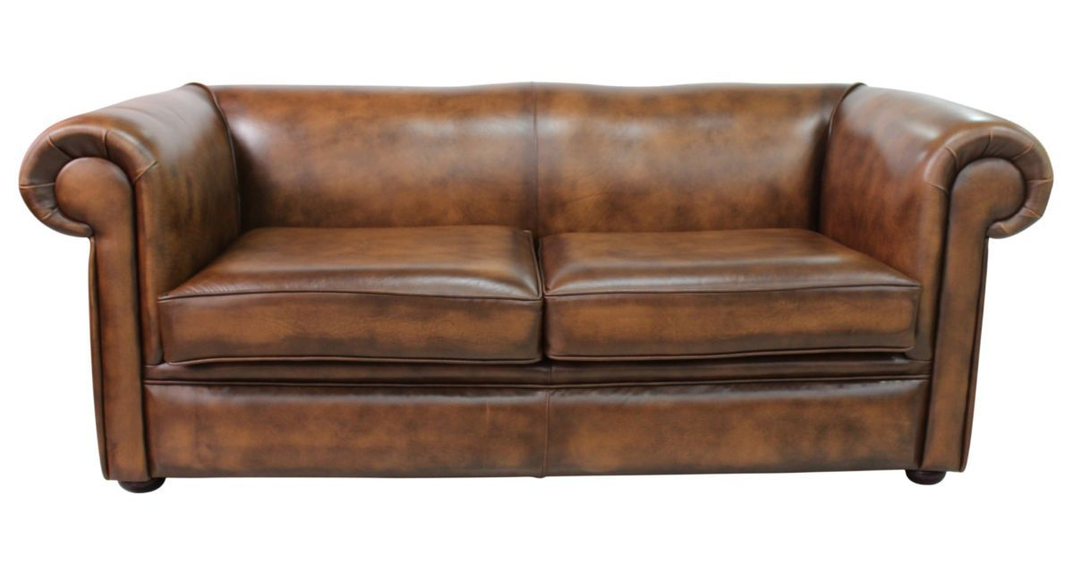 Tan Chesterfield 1930 S 3 Seater Sofa Designersofas4u