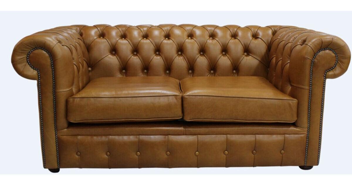 Caramel leather chesterfield sofa uk designersofas4u for Sofa 0 interest free credit