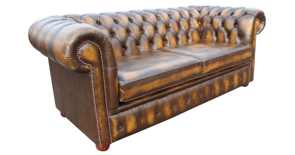 chesterfield 2 seater sofa bed antique gold leather green leather chesterfield sofa bed brown leather chesterfield sofa bed