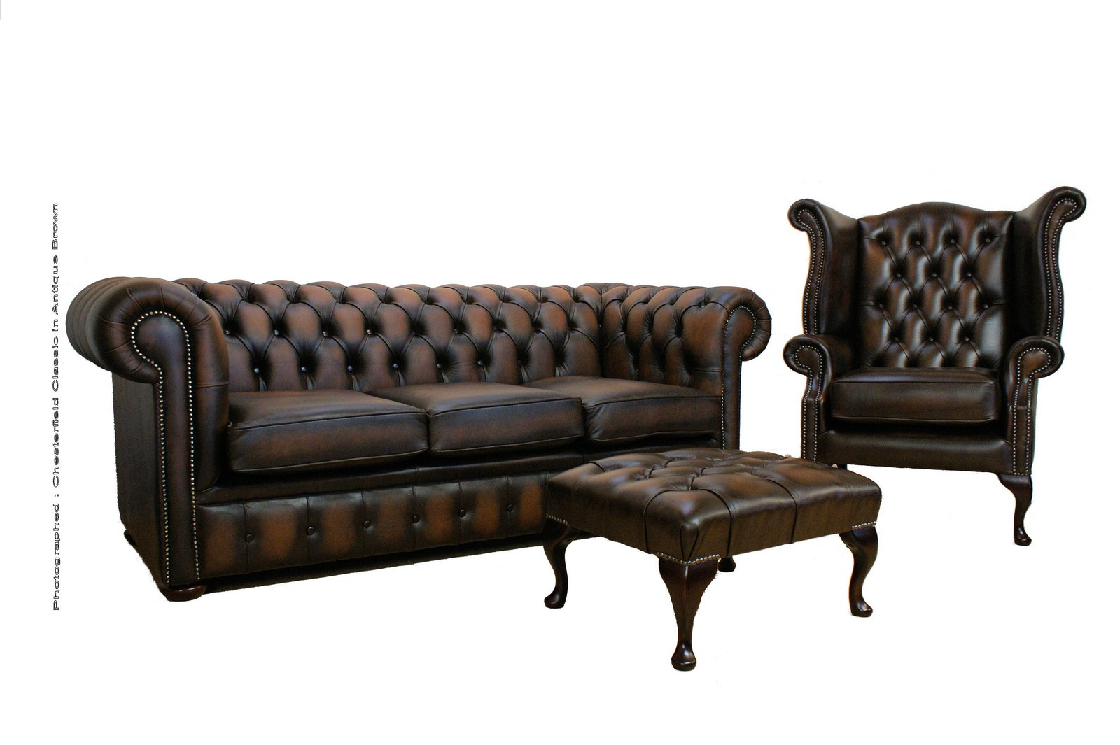 Second hand chesterfield could do the job for Best time to buy a couch