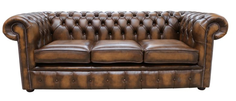 Sensational Chesterfield Classic Tufted Buttoned 3 Seater Antique Tan Leather Sofa Settee Home Interior And Landscaping Dextoversignezvosmurscom