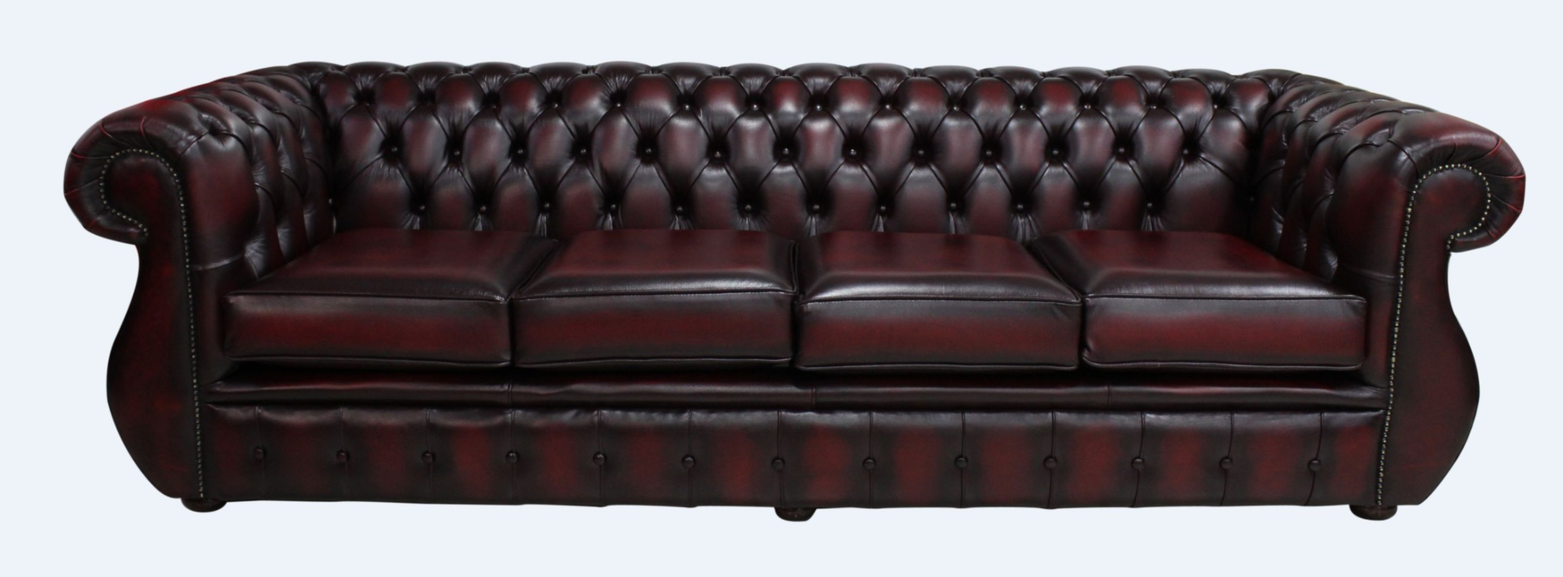 Awe Inspiring Chesterfield Kimberley 4 Seater Antique Oxblood Leather Sofa Offer Uwap Interior Chair Design Uwaporg