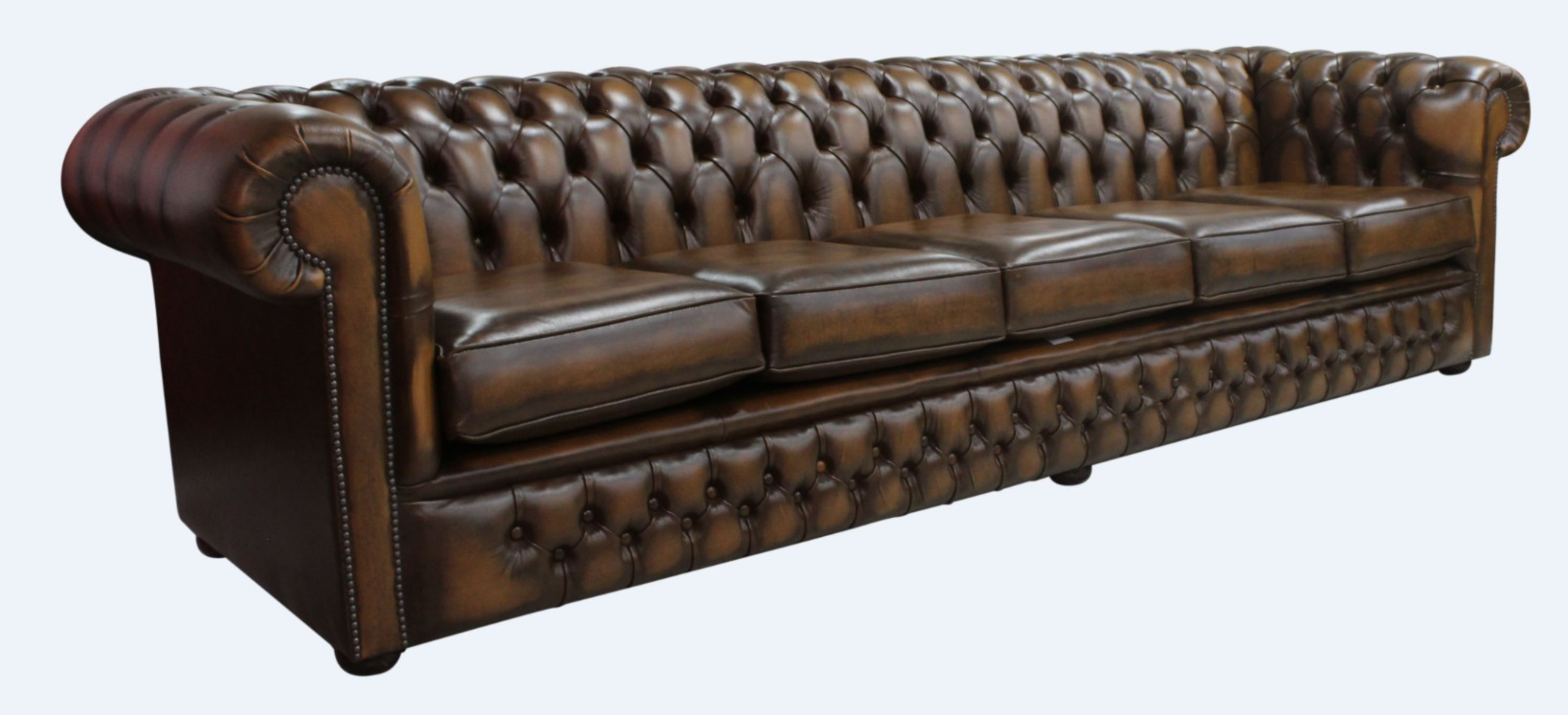 Surprising Chesterfield Winchester 5 Seater Settee Antique Tan Leather Download Free Architecture Designs Aeocymadebymaigaardcom