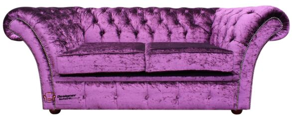 Velvet Chesterfield Sofas