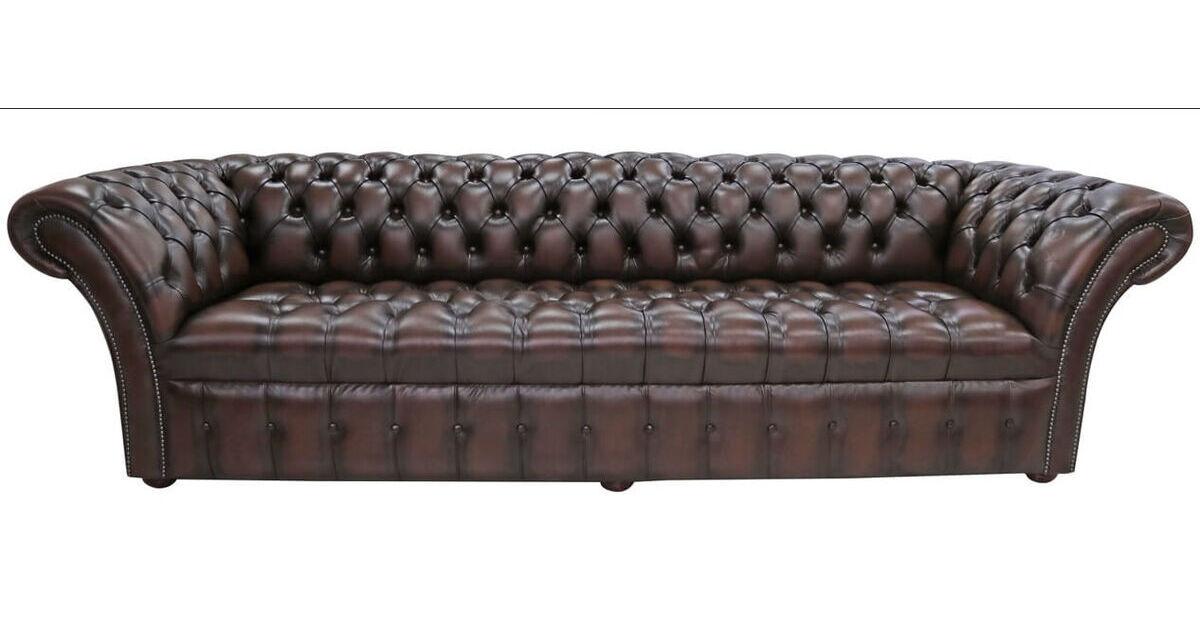 brown leather chesterfield balmoral sofa designersofas4u