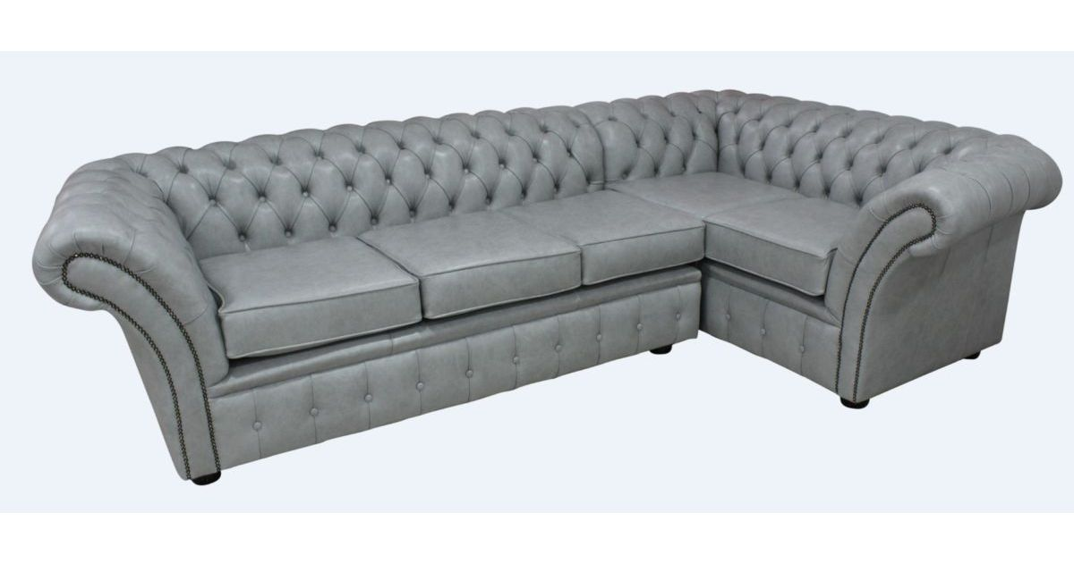 Chesterfield Balmoral Corner Sofa Unit Cushioned