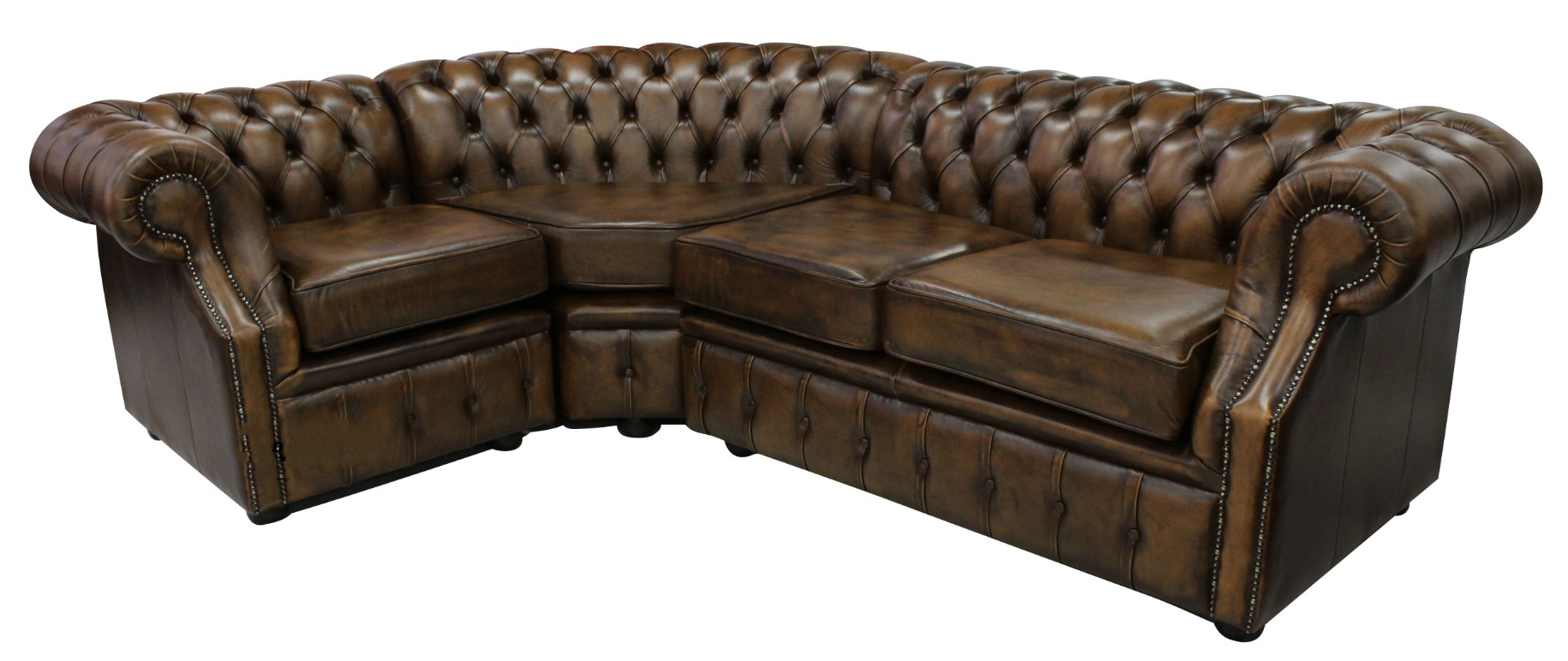 Chesterfield Graham Corner Sofa Unit 2 C 1 Antique